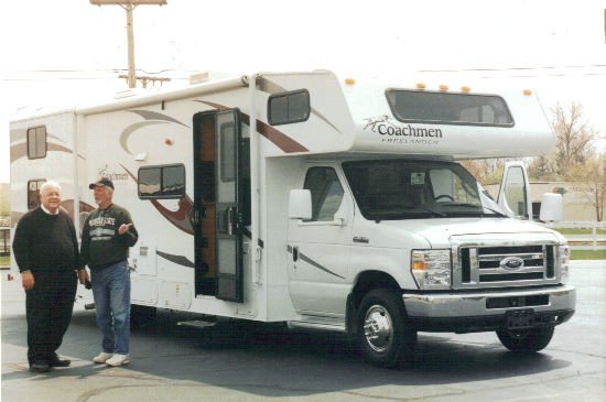 Boy Scouts cruising across USA in Coachmen Freelander